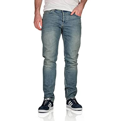f8203dfd2b8a Topman Mens Stretch Slim Fit Jeans  Amazon.co.uk  Clothing