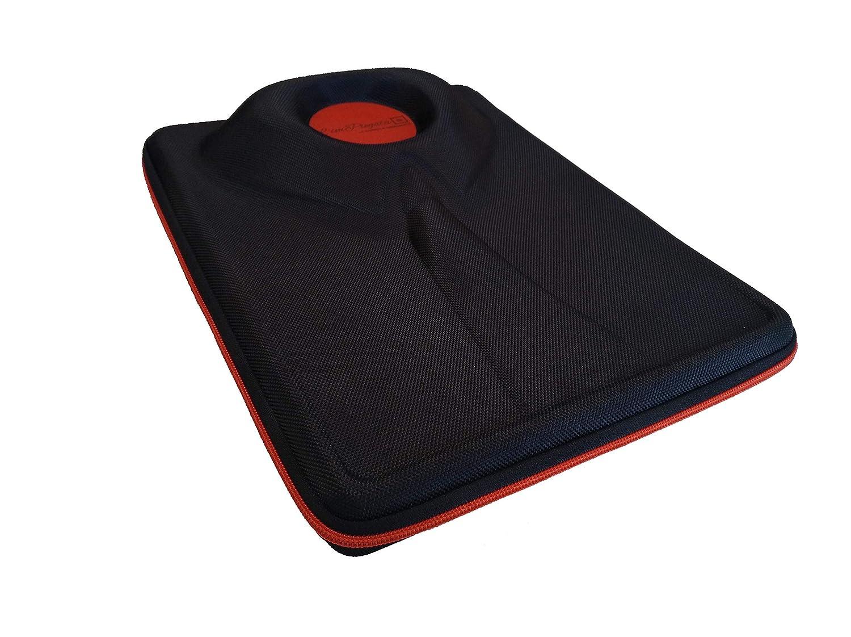 L/'imPiegata Porte-chemise de Voyage Rigide Noir Sac Porte-habits Housse Chemise Homme pour Valise avec Insert pour Pliage