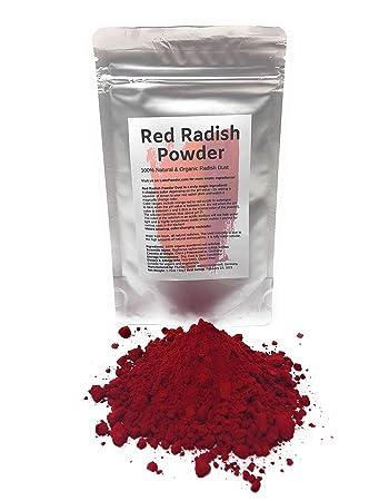 Amazon.com : Red Radish Powder Dust   Organic, natural ...