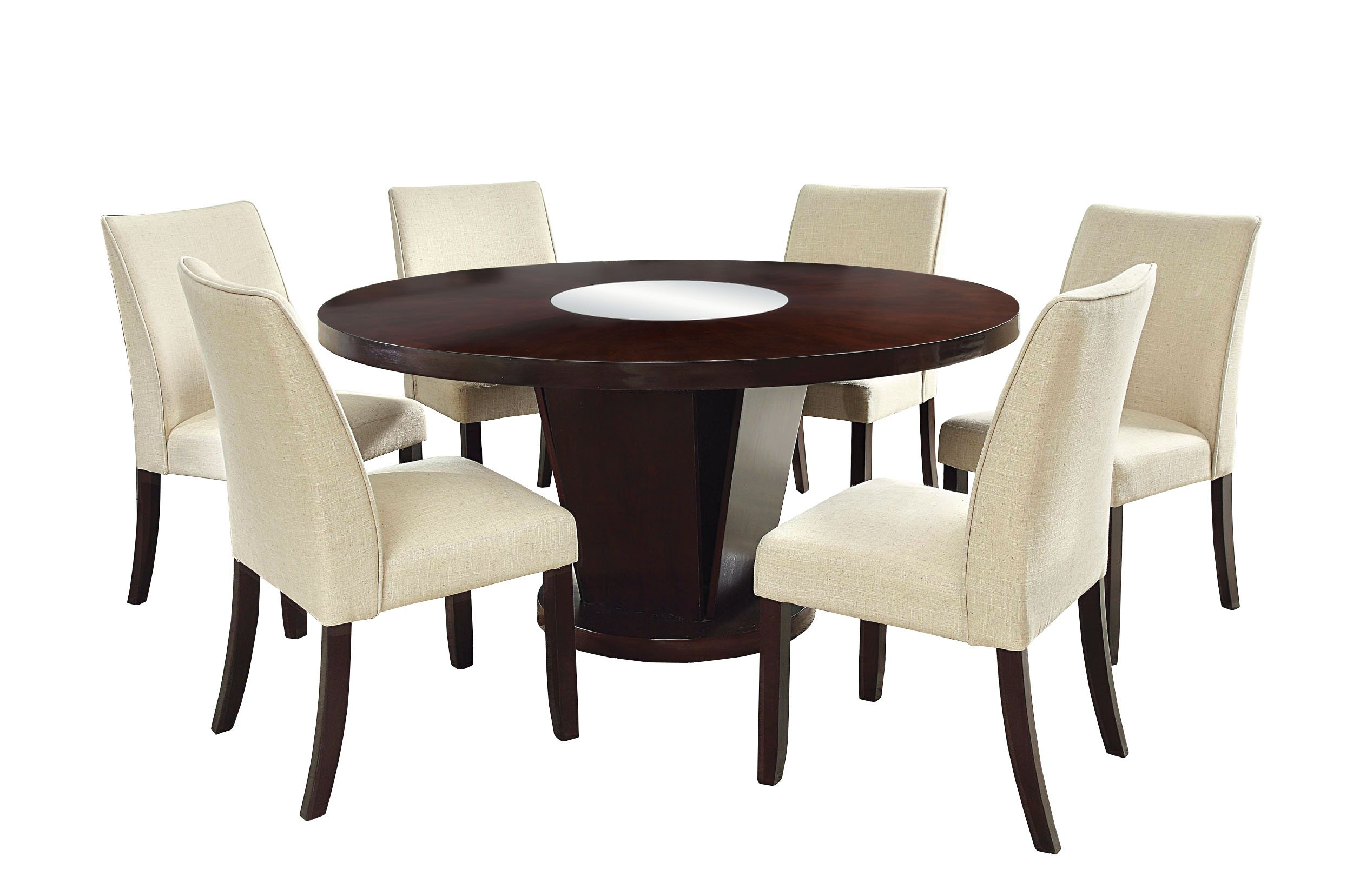 furniture of america dining sets. Furniture Of America Telstars 7-Piece Round Table Dining Set, Espresso Sets A