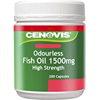 Cenovis Fish Oil 1500mg - 200 Capsules