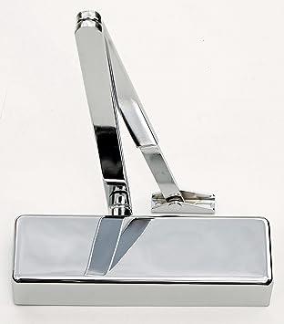 Boss TS4.224 Size 2-4 Architectural Slimline Overhead Door Closer Silver