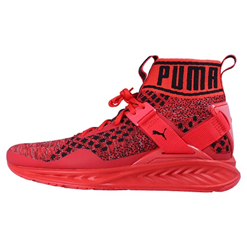 Puma IGNITE evoknit Sneaker Uomo, rossonero, 6, 5 UK 40