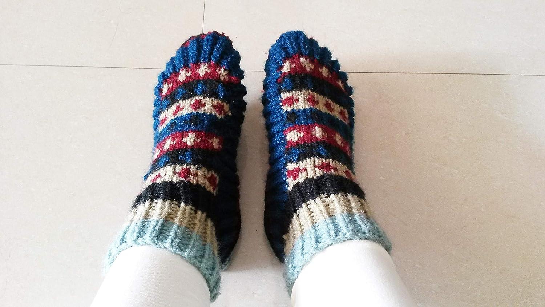 cc5a0725231eb Amazon.com: Winter Socks Winter Wear Ladies wool Socks FREE SHIPPING:  Handmade