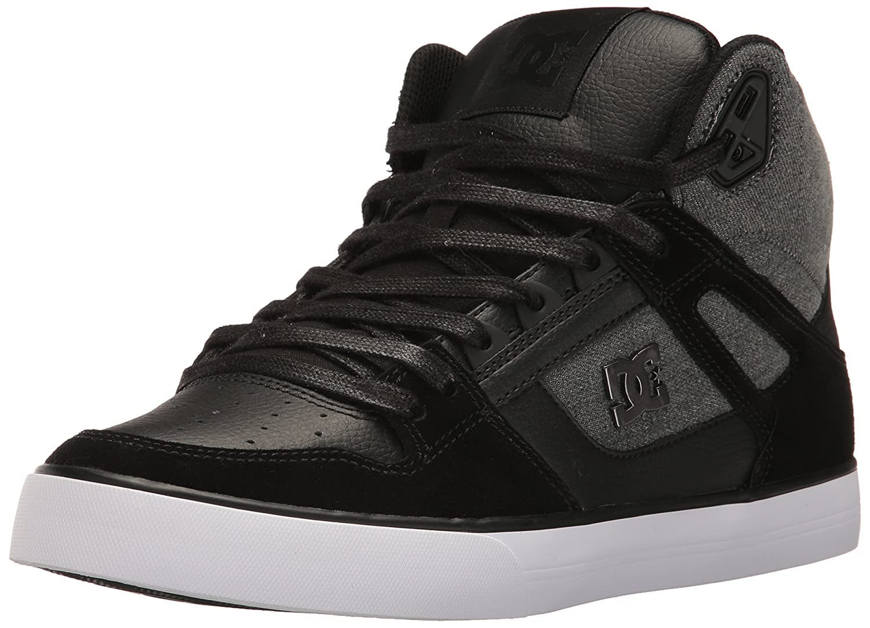 DC Men's Spartan HI WC SE Sneaker Black Used