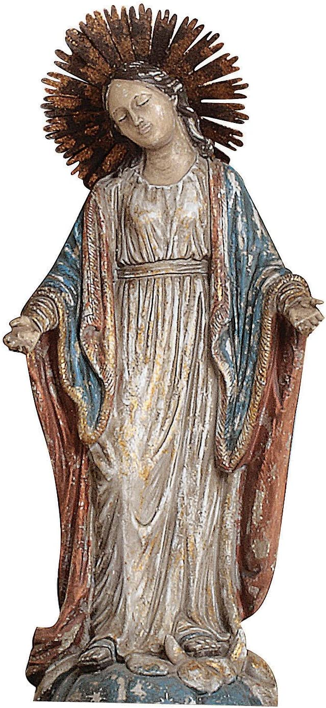 Creative Co-op Resin Virgin Mary Statue