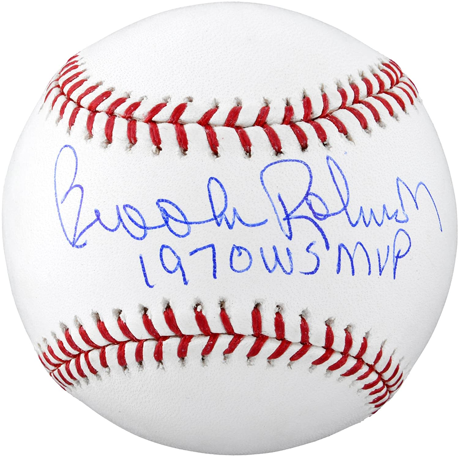 Brooks Robinson Baltimore Orioles Autographed Baseball with 1970 WS MVP Inscription - Fanatics Authentic Certified