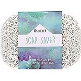 Smith's Merchandise Economiseur de savon/Support pour savon de Smith   Écologique (couleur: blanc)