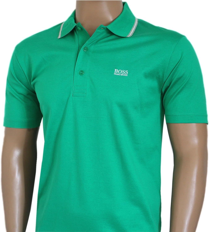 BOSS Hugo Hombre GR Patry-2 Polo Camiseta Negro, Azul, Azul Marino ...