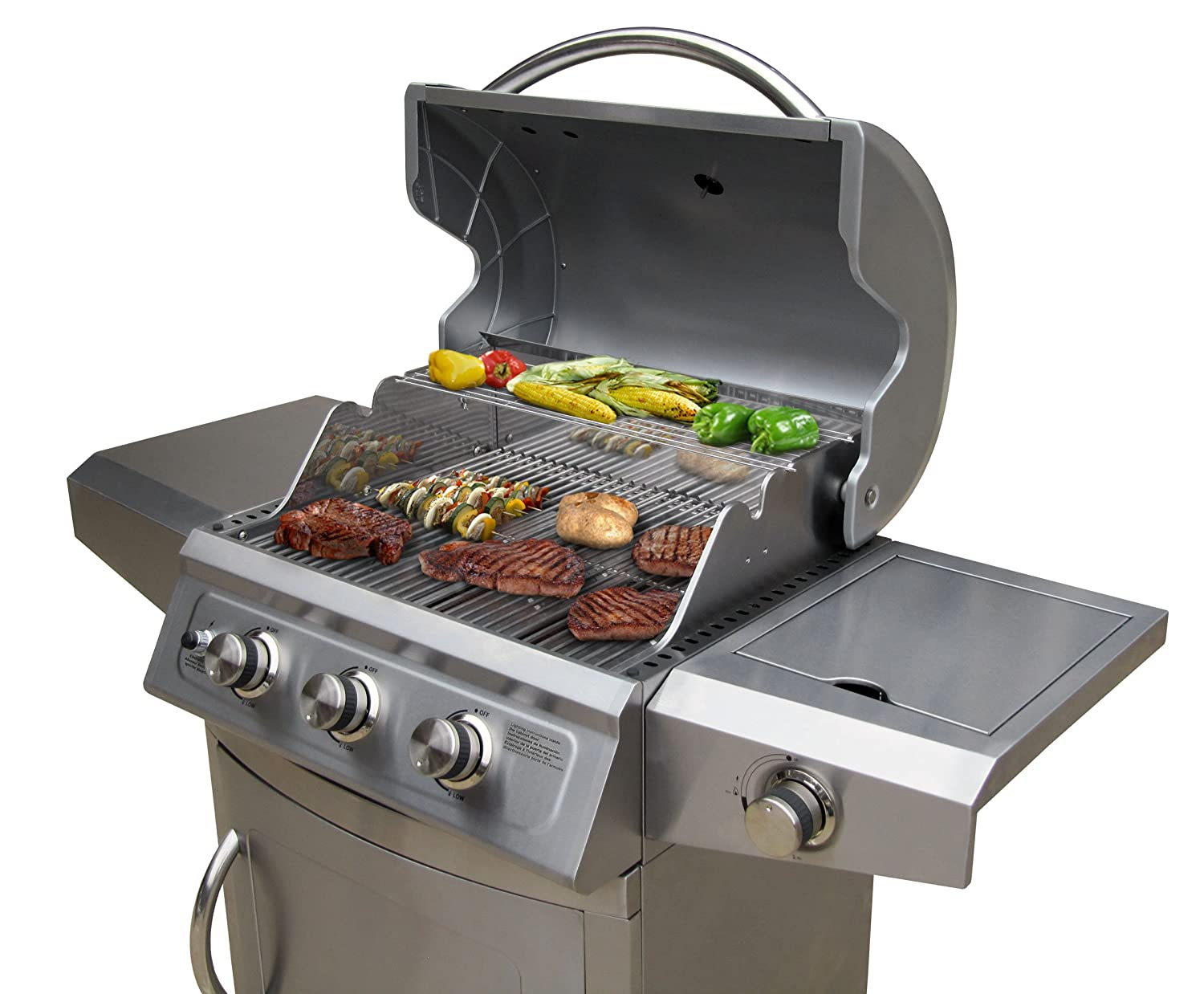 Landmann Gasgrill Triton 3 : Amazon landmann falcon burner lp gas grill with side