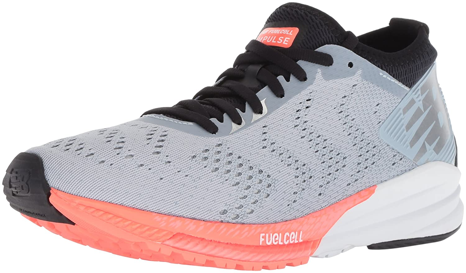 New Balance Women's Impulse B075R7D6W7 V1 FuelCell Running Shoe B075R7D6W7 Impulse 9 D US|Light Grey 12db4b