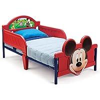 Delta Children Mickey Mouse 3D - Cama primera infancia, unisex