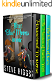 Three Blue Moons in One: A Darkly Comic Mystery Thriller Collection: Books 1 to 3 in one place