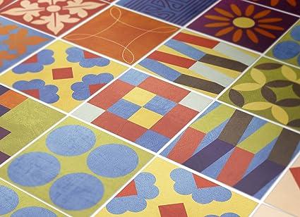 Adesivi per piastrelle confezioni con 90 piastrelle pavimento