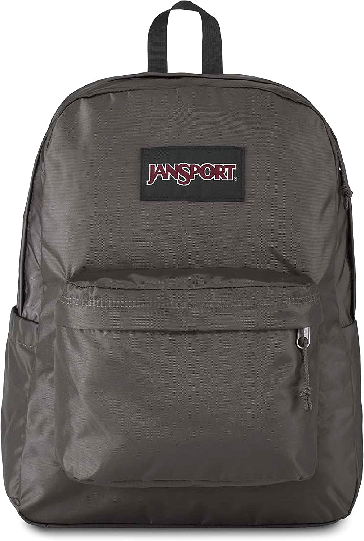 JanSport Superbreak Plus Backpack - School, Work, Travel, or Laptop Bookbag with Water Bottle Pocket