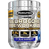 Pre Workout + Muscle Builder | MuscleTech Neurocore Preworkout | Creatine HCl + L Citrulline + Yohimbine + Beta Alanine + Caf