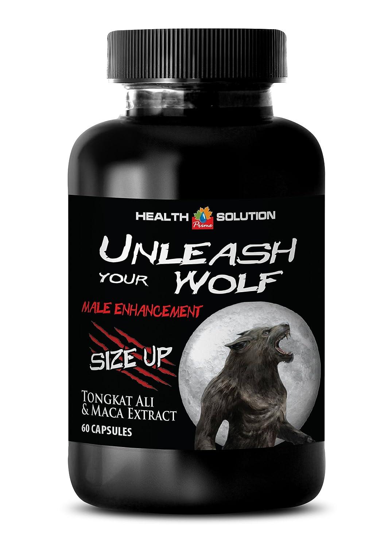 Amazon.com: Men libido vitamins - UNLEASH YOUR WOLF - MALE ENHANCEMENT - SIZE UP - Tongkat ali with maca - 1 Bottle 60 Capsules: Health & Personal Care