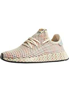 adidas Originals DEERUPT PRIDE - Baskets basses - cream white/ash grey/core black lxCSHzZgU