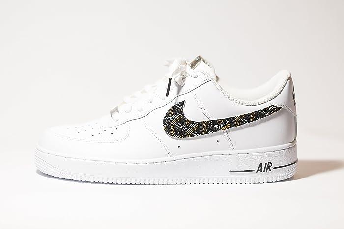 Nike Air Force High Custom Black