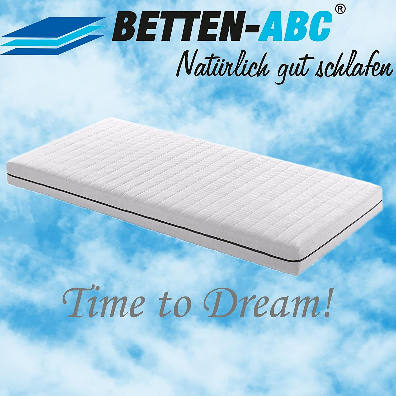 Betten-ABC ABC-Dream Spezial Sondermaß Kaltschaummatratze Kaltschaummatratze Kaltschaummatratze 7 Zonen RG 30 Höhe ca. 13 cm Härtegrad 2,5 - Grösse 140x205 d54090