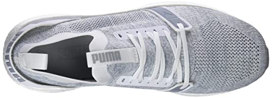 Puma Herren NRGY Neko Engineer Knit Laufschuhe, Weiß White Quarry 04, 40 EU