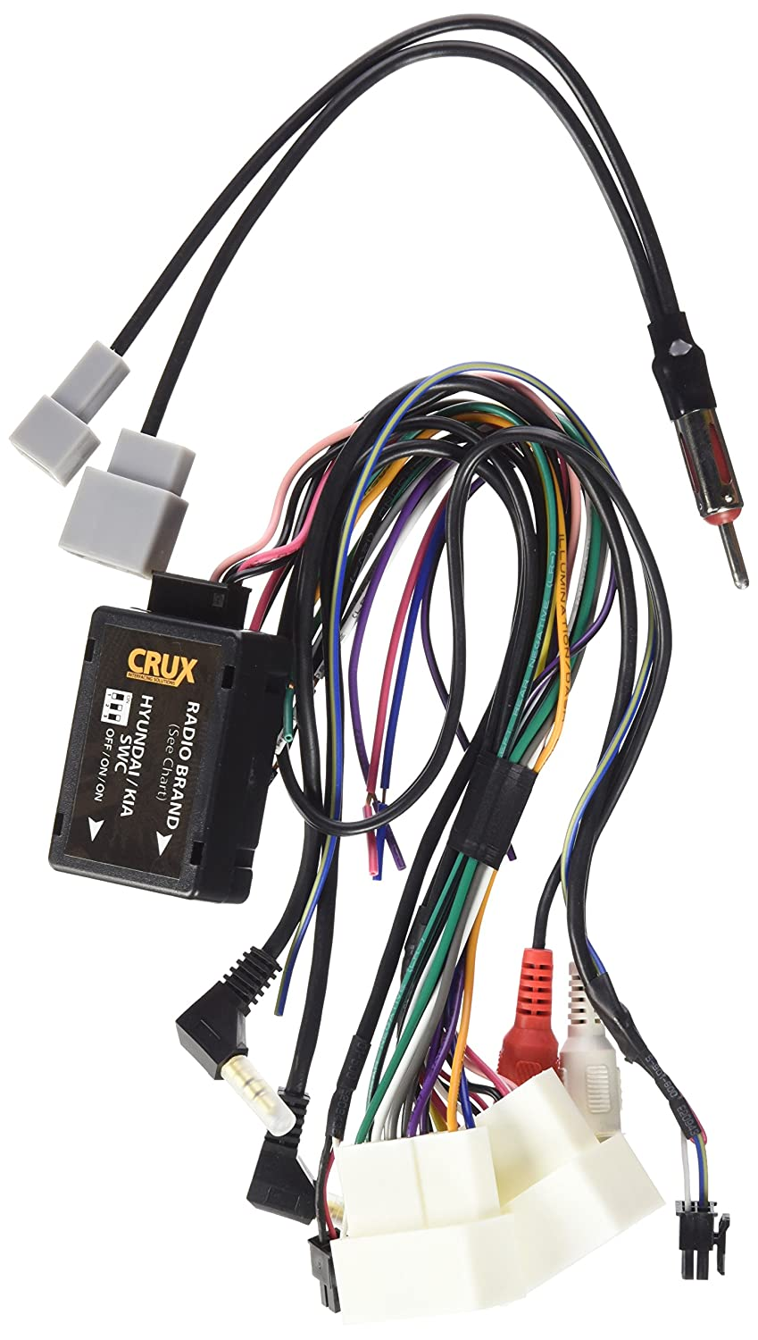Crux Swrhk 65e Radio Replacement Interface For Select Pioneer Car Stereo Wiring Adapters Kia Rio Hyundai And Vehicles 2010 2014 Automotive