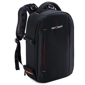Amazon.com : K&F Concept Professional Camera Bag for DSLR Camera ...