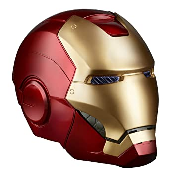 Marvel Legends Iron Man Electronic Helmet Gold Red