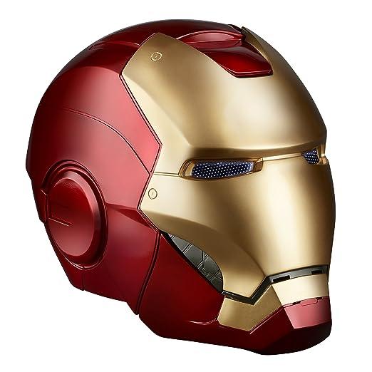 Amazon.com: Avengers Marvel Legends Iron Man Electronic Helmet: Toys ...