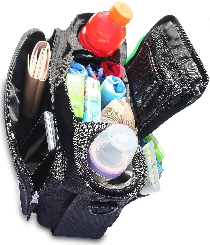 Amazon.com : Universal Stroller Organizer Bag with Premium ...