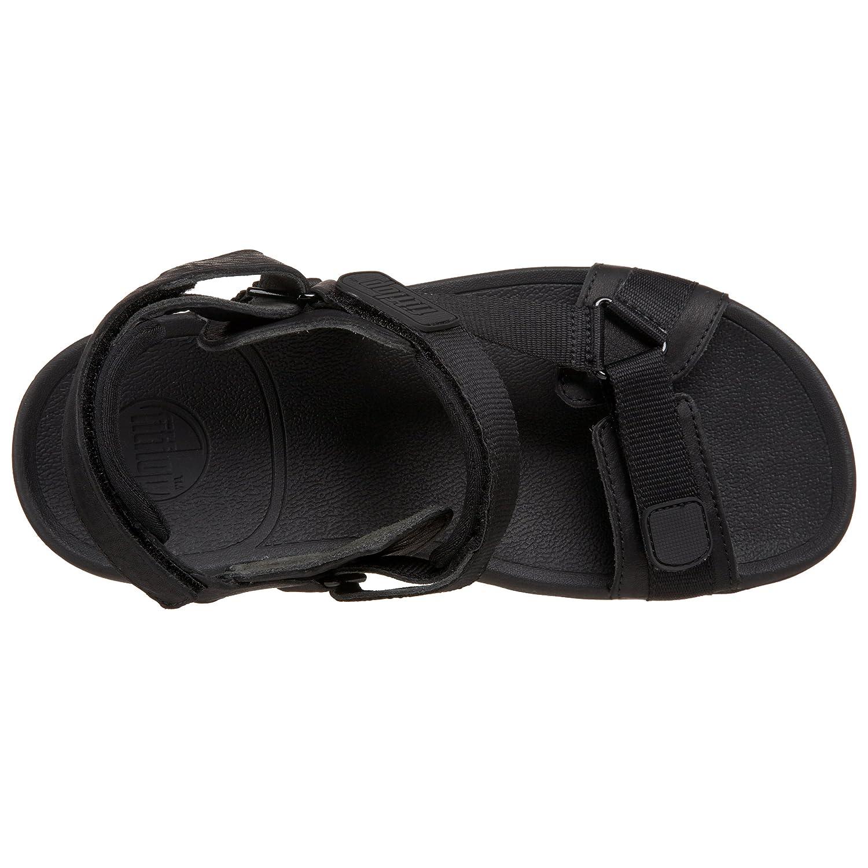 2b9e941ce Fitflop Men s Hyker Sandals Black Size  9  Amazon.co.uk  Shoes   Bags
