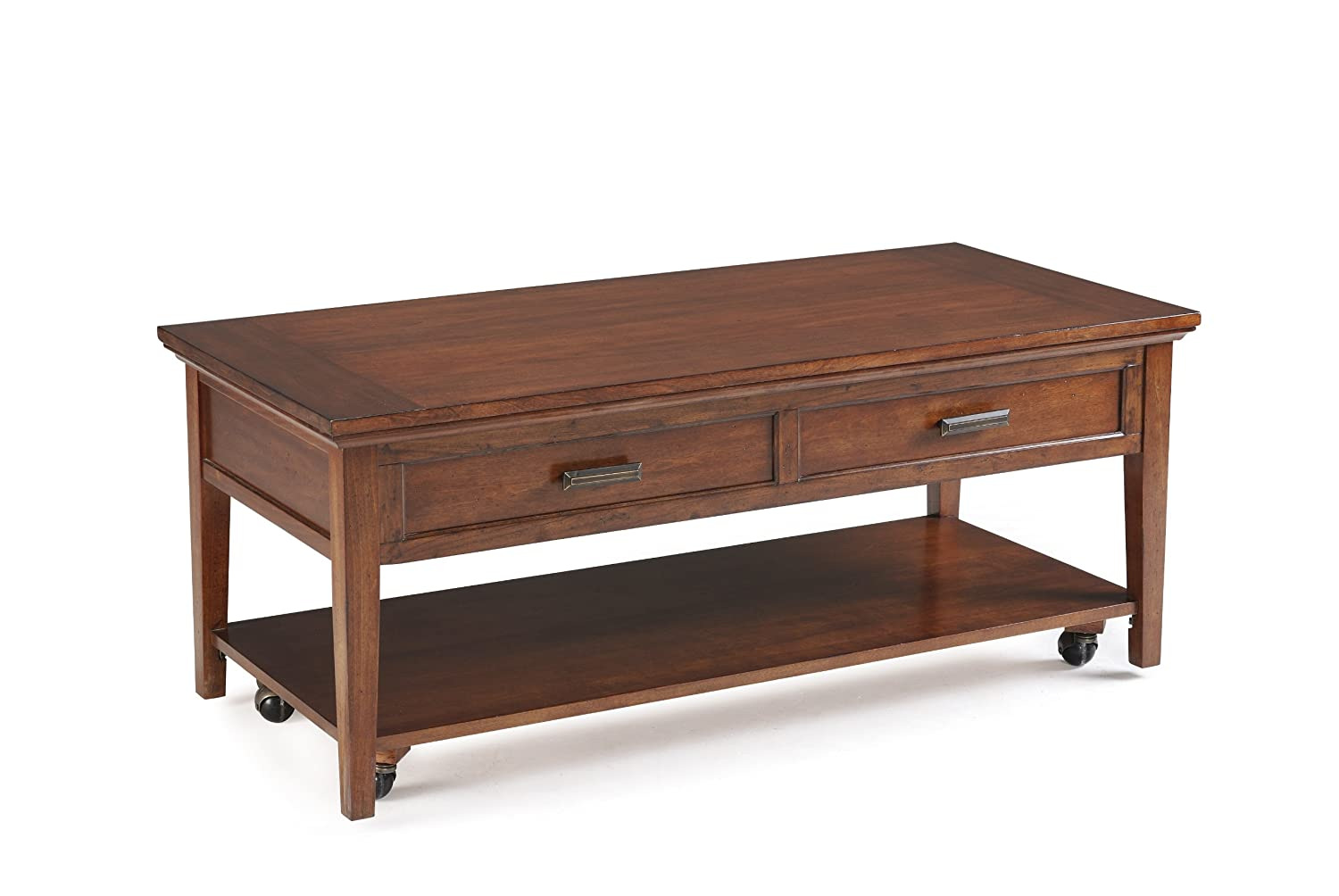 Amazon Com Magnussen Harbor Bay Wood Starter Cocktail Table Kitchen Dining