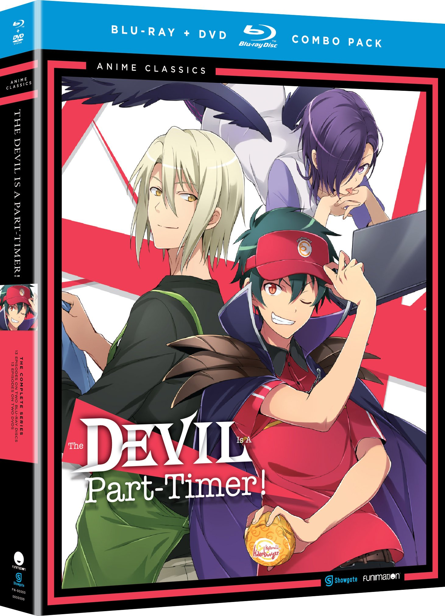 Blu-ray : The Devil is a Part Timer: The Complete Series - Anime Classics (With DVD, 4 Disc)