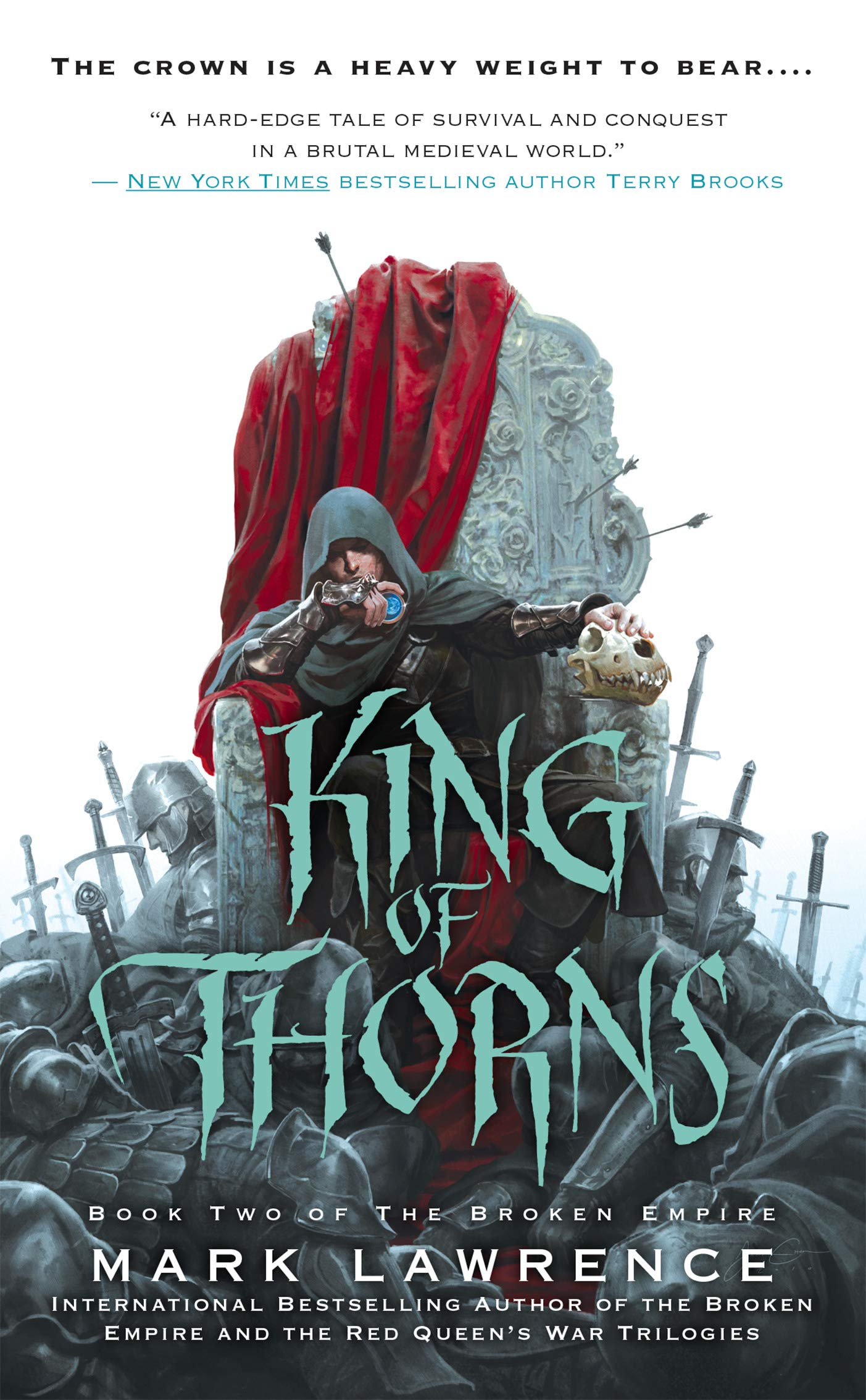 King of Thorns (The Broken Emp...