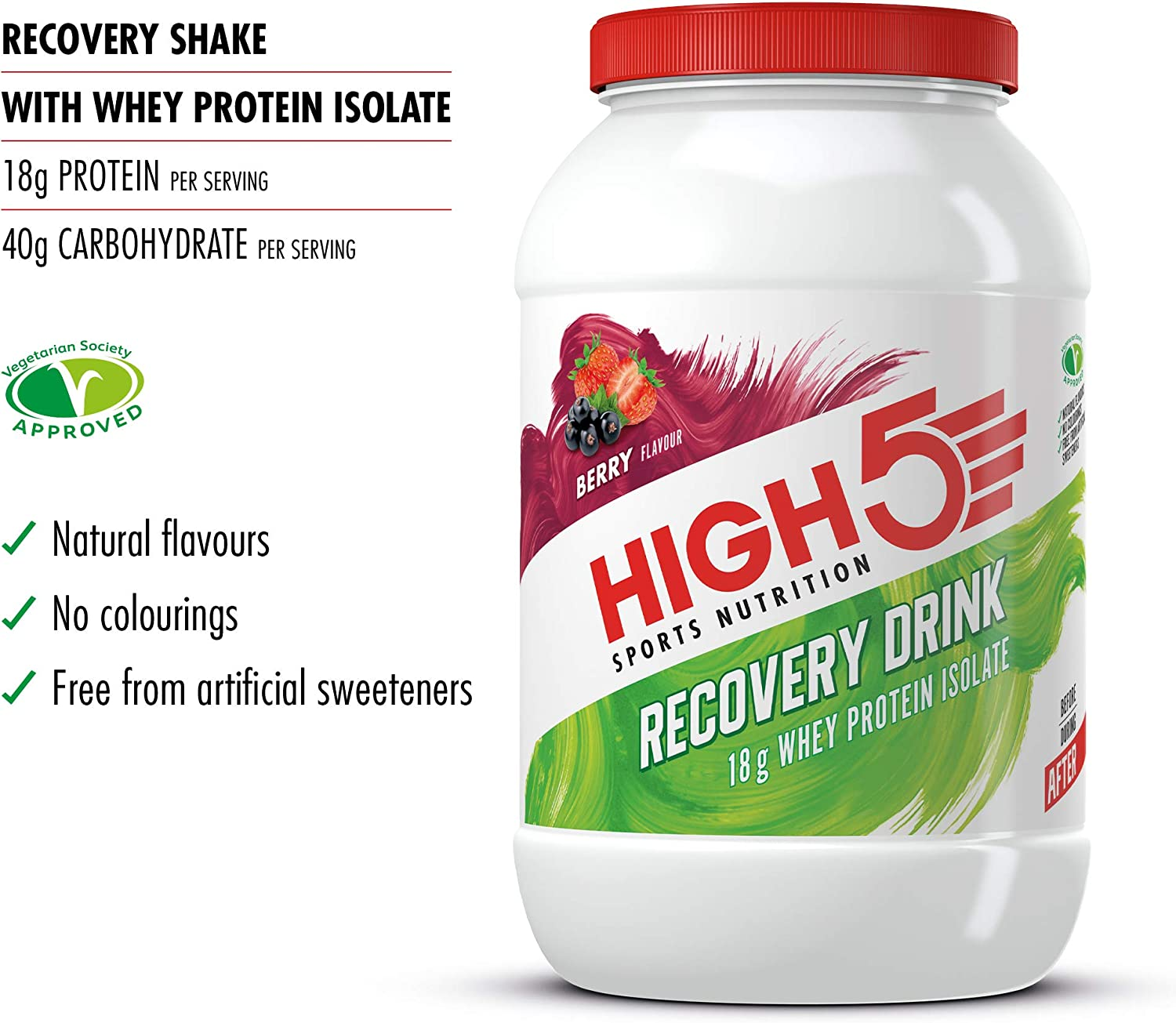 high 5 protein recovery for diet