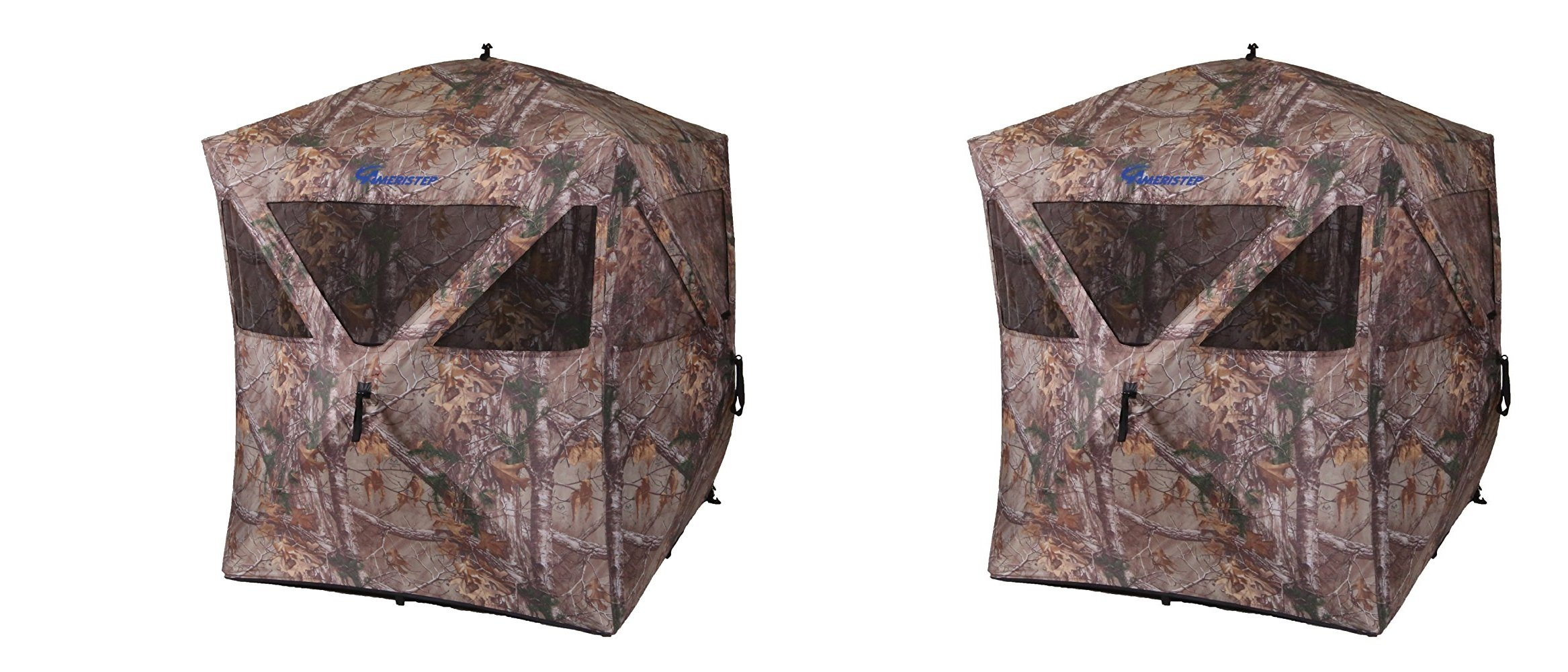 Ameristep Care Taker Hub Blind-Realtree Xtra (Pack of 2) by Ameristep