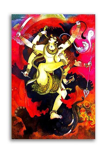 Tamatina Canvas Paintings - Shiva Shankar - Shiva Puran - Lord Shiva