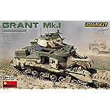 ミニアート 1/35 イギリス軍 グラントMk.1フルインテリア (内部再現) プラモデル MA35217
