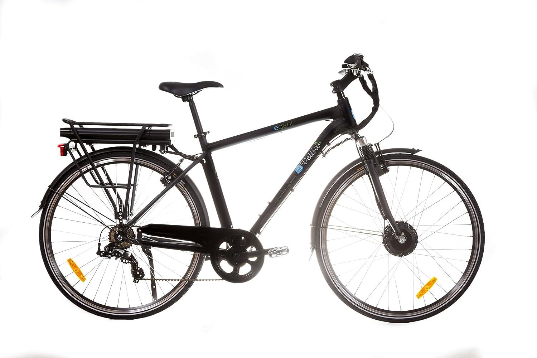 Vellia E. Gent – Bicicleta eléctrica para hombre, color negro mate ...