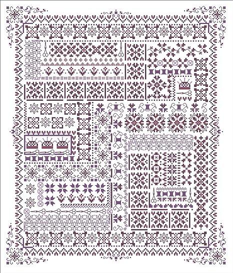 Las bordadoras de Sampler Evenweave Kit (tela): Amazon.es: Hogar