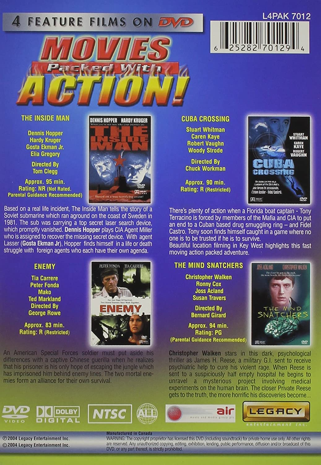 Movie Packed With Action [USA] [DVD]: Amazon.es: Cine y ...