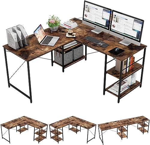 Bestier L-Shaped Desk