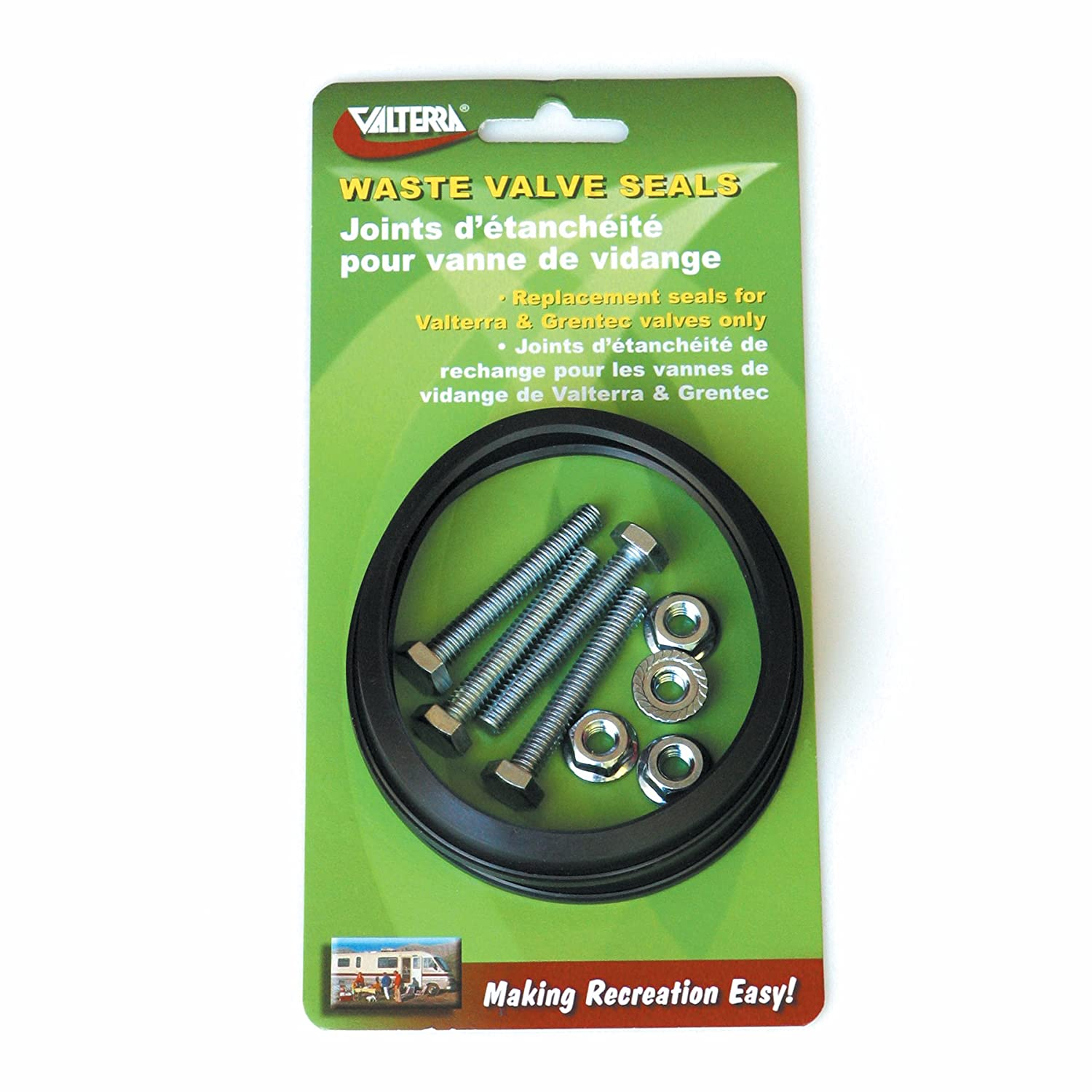 Valterra T1002-7VP 2 Replacement Seal with Hardware, Set of 2