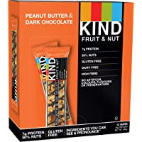 KIND Peanut- Butter Dark Chocolate - High Protein and All Natural - 12x 40g bar