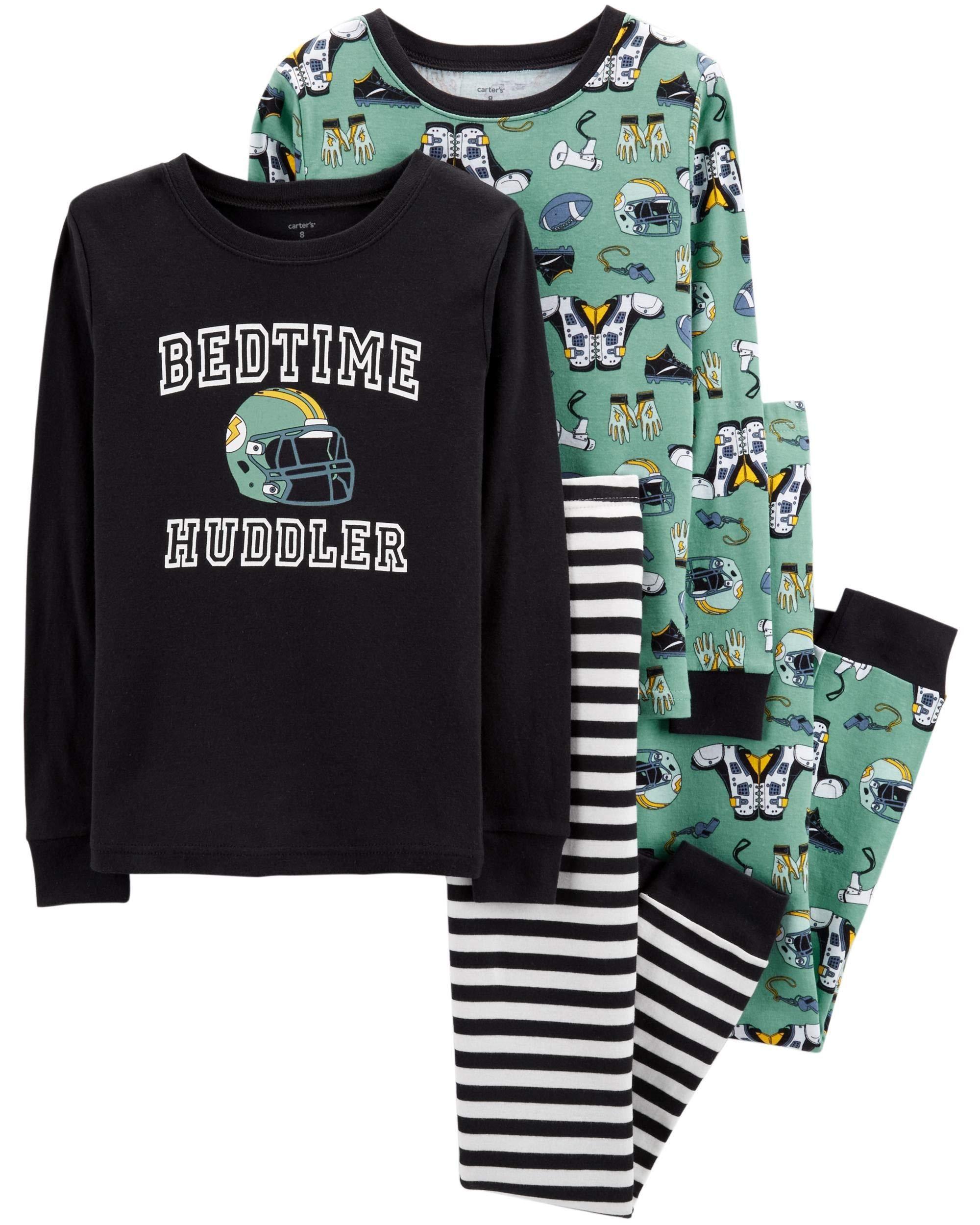 5717ba87e Galleon - Carter s Toddler Boys 4 Pc Pajama PJs Sleep Play Sleep ...