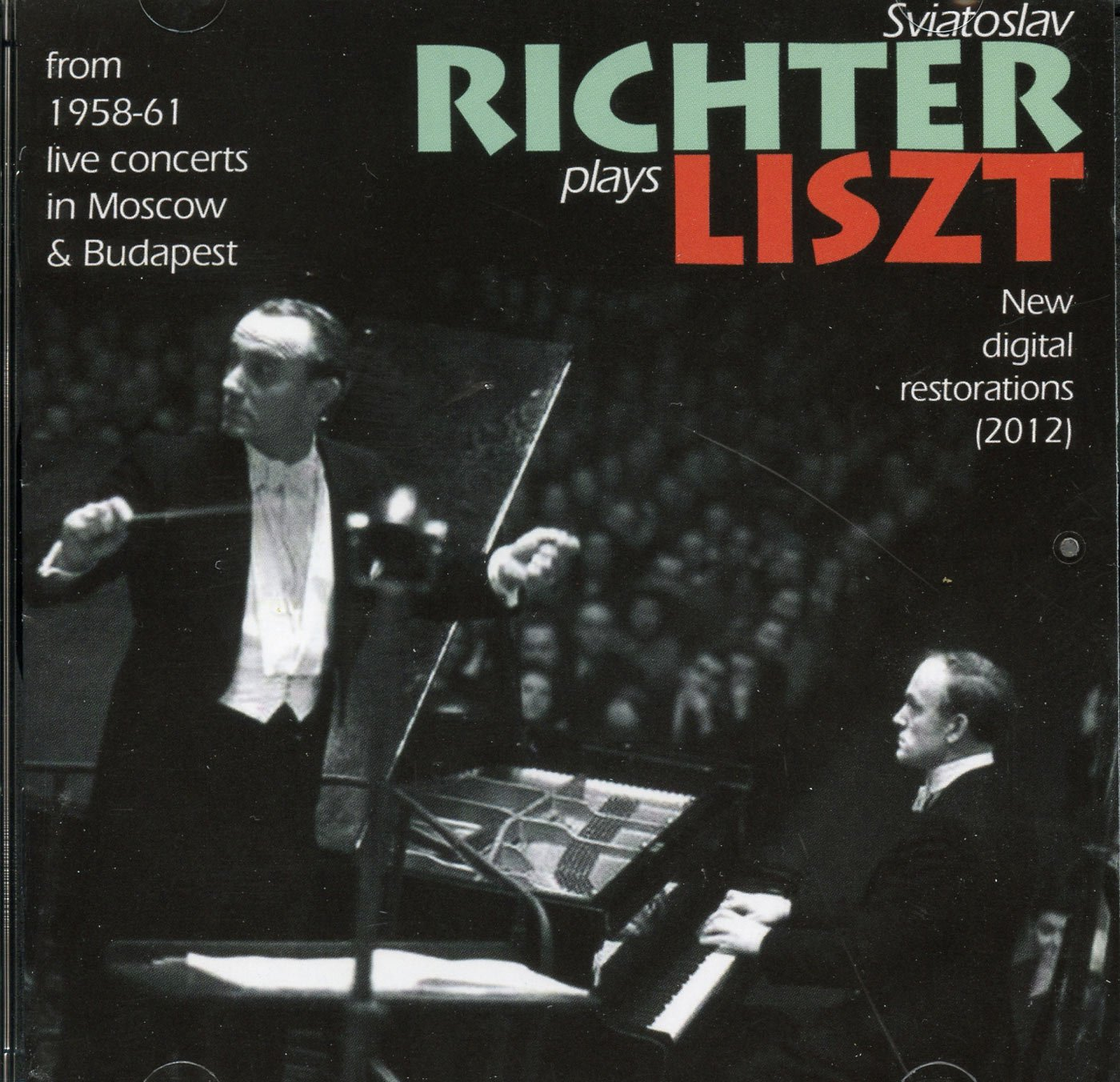 Richter Plays Liszt by Imports