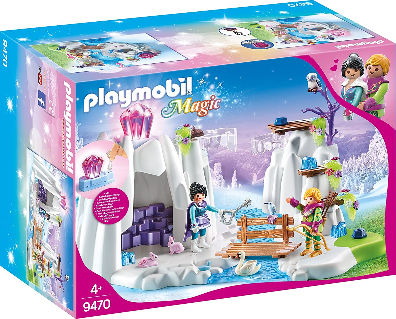amazoncom playmobil 9470 crystal diamond hideout new 2018 clothing