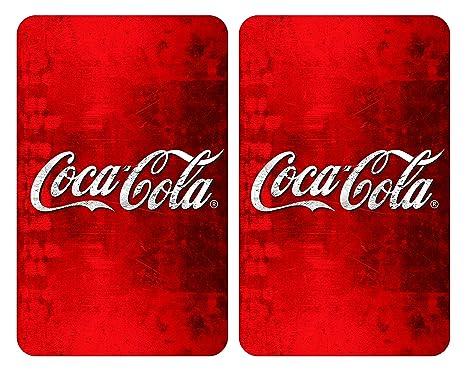 Amazon.com: Placas Cobertoras De Vidrio Universales Coca ...