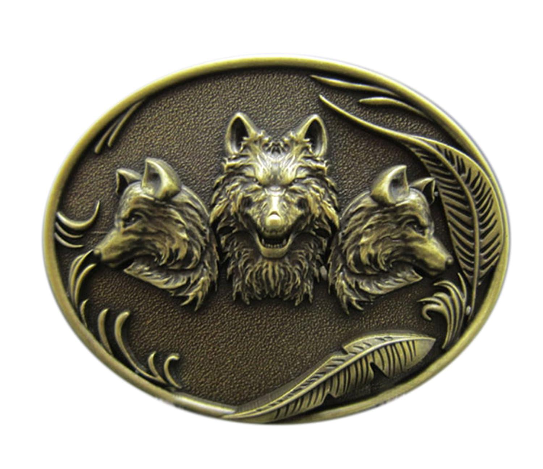 Gürtelschnalle Buckle für Gürtel bis 4 cm Breite Metall tolle Details Indianer