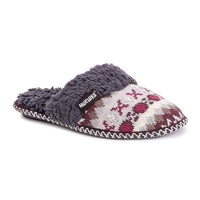 MUK LUKS Women's Frida Scuff Slippers | Slippers